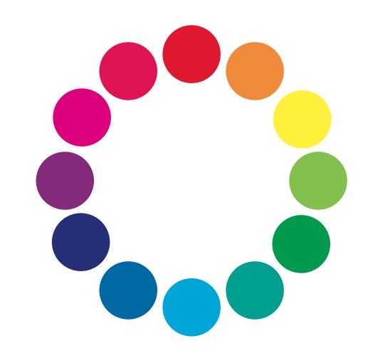 色相環,カラー,色使い,配色