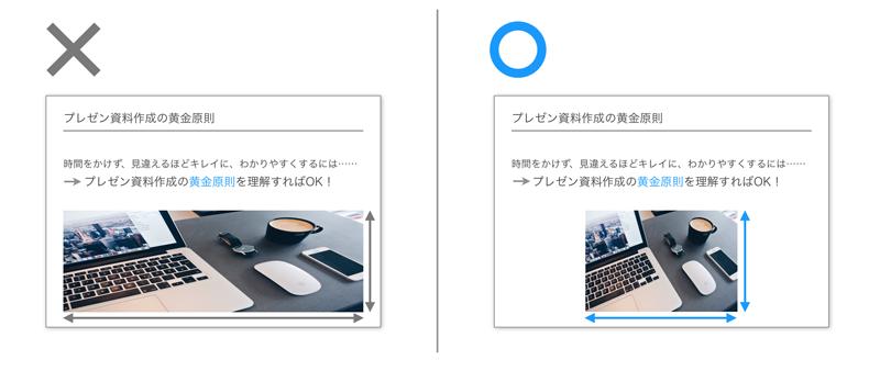 PowerPoint,画像,見せ方,入れ方,挿入,比率